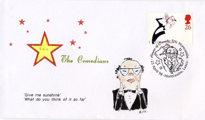 Comedians, Eric Morecambe