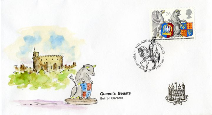 Queen's Beasts, The Bull of Clarence