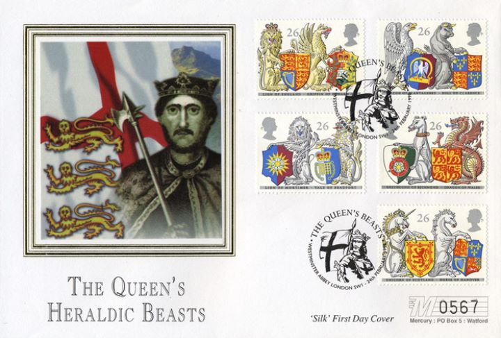 Queen's Beasts, Richard the Lionheart