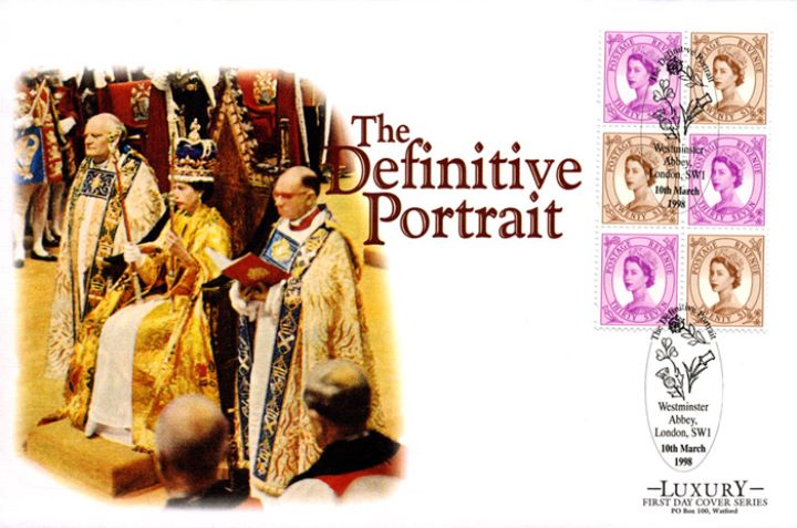 PSB: Definitive Portrait - Pane 4, Coronation Ceremony