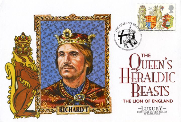 Queen's Beasts, Richard I