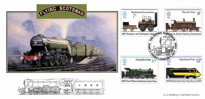 Flying Scotsman, Inaugural Run of Flying Scotsman