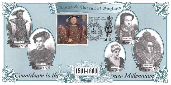 Kings & Queens, 16th Century Monarchs of England