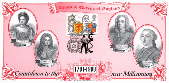 Kings & Queens, 18th Century Monarchs of England