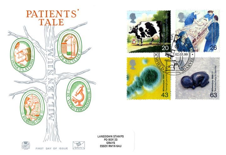 Patients' Tale, Millennium Cover No. 3