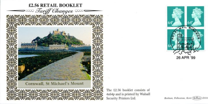 Window: Airmail: £2.56, St. Michael's Mount