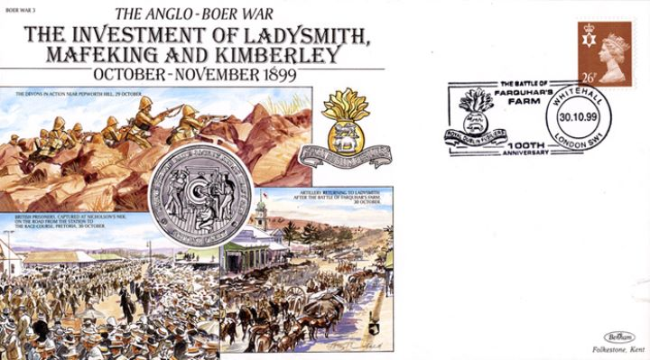 Anglo-Boer War, Investment of Ladysmith