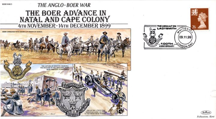 Anglo-Boer War, Boer Advance in Natal