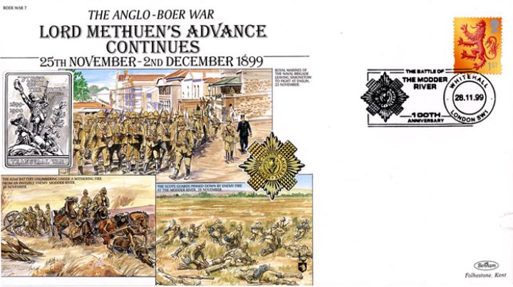 Anglo-Boer War, Methuen's Advance Continues