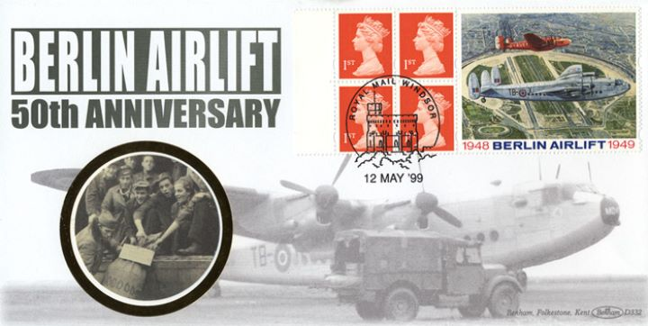 Window: Berlin Airlift, Flown Cover