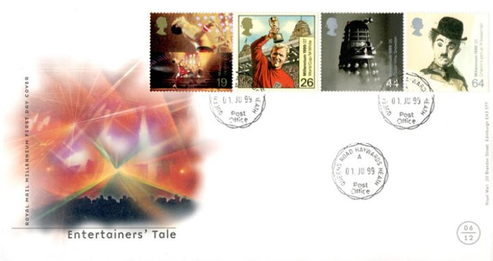 Entertainers' Tale, CDS Postmarks