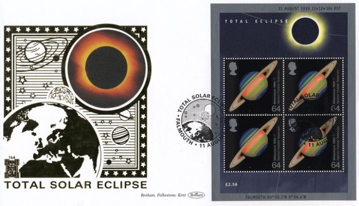 Solar Eclipse: Miniature Sheet, Earth and the Planets