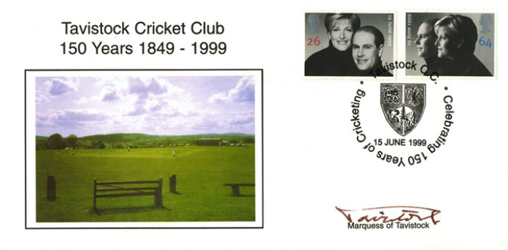 Royal Wedding 1999, Tavistock Cricket Club