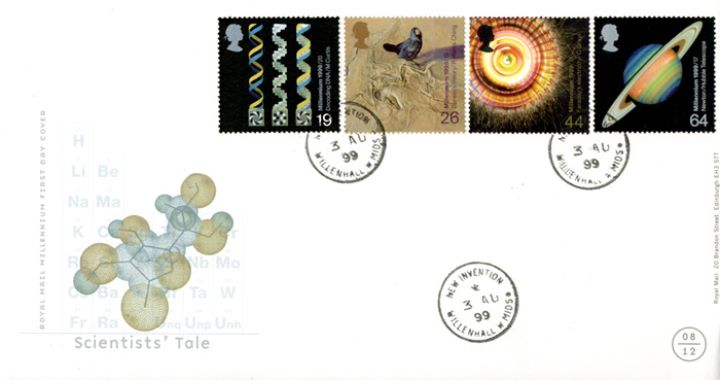 Scientists' Tale, CDS & Special Handstamps