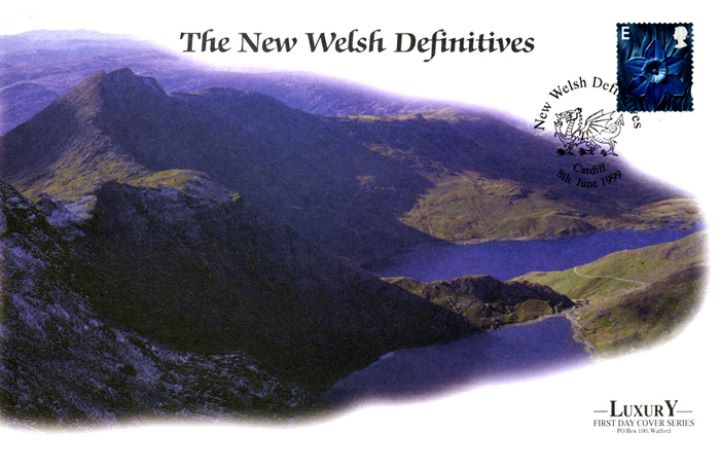 Wales 2nd, 1st, E, 64p, Welsh Mountains