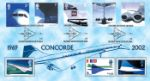 Airliners: Stamps Concorde Producer: Bradbury Series: Windsor (18)