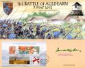 Celebrating England: Miniature Sheet The Battle of Auldearn