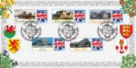 29.09.2008 50th Anniversary of Regional Stamps Stamp Labels from Sheet Bradbury, BFDC No.31