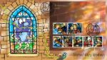 Christmas 2009: Miniature Sheet Stained Glass window Producer: Steve Oliver Series: Phil Stamp Covers (158)