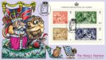 Festival of Stamps: Miniature Sheet King and Lion Producer: Steve Oliver Series: Phil Stamp Covers (164)