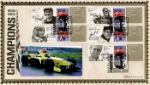 Grand Prix [Commemorative Sheet] British World Champions