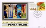 Olympic Games [Commemorative Sheet] Pentathlon