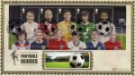 Football Heroes: Miniature Sheet Football and Stadium