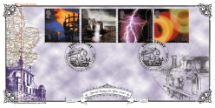 01.02.2000 Fire & Light Greenwich/Observatory Bradbury, Victorian Print No.135