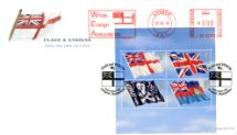 22.10.2001 Flags & Ensigns: Miniature Sheet White Ensign Royal Mail/Post Office