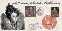 03.03.2003 400th Anniversary of Elizabeth I Queen Elizabeth I Bradbury, Anniv and Events No.11