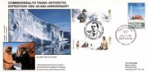 29.04.2003 Extreme Endeavours Trans Antarctic Expedition Cambridge Stamp Centre