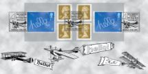 04.03.2003 Self Adhesive: Hello Vintage Aeroplanes Bradbury, Windsor No.26