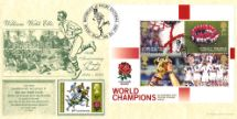 19.12.2003 Rugby World Cup: Miniature Sheet William Webb Ellis Bradbury, Anniv and Events No.21