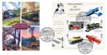 18.09.2003 Transports of Delight: Miniature Sheet Classic Trains Bradbury, Windsor No.33