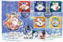 05.11.2003 Christmas The Snowman at Christmas Official Sponsors