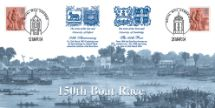 28.03.2004 The 150th Boat Race Scene from early race Bradbury, Anniv and Events No.22
