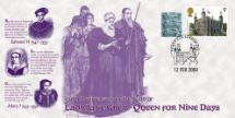 12.02.2004 Lady Jane Grey Queen for Nine Days Bradbury, Anniv and Events No.16