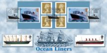 13.04.2004 Self Adhesive: Ocean Liners Sailing Ship Bradbury, Windsor No.41