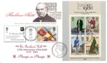 10.08.2004 Royal Society of Arts Stamps on Stamps