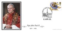 08.04.2005 Pope John Paul II Official Portrait Bradbury
