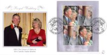 08.04.2005 Royal Wedding: Miniature Sheet Charles & Camilla Bradbury, Sovereign No.62