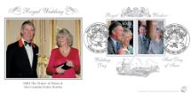 08.04.2005 Royal Wedding: Miniature Sheet Double dated on Wedding Day Bradbury, Sovereign No.62