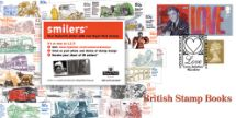 26.07.2005 Self Adhesive: 6 x 1st Smilers Advert No.2 British Stamp Books Bradbury, Windsor No.52