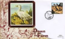 11.01.2005 Farm Animals Duck with chicks Benham, BS No.383
