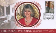 08.04.2005 Royal Wedding: Miniature Sheet Camilla Parker Bowles Benham, BS No.415