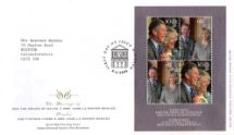 08.04.2005 Royal Wedding: Miniature Sheet The Marriage of......... Royal Mail/Post Office