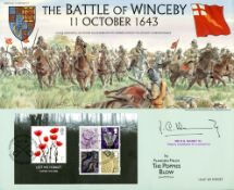09.11.2006 Lest We Forget 2006: Miniature Sheet Battle of Winceby Benham, Heritage of Britain No.37