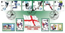 06.06.2006 World Cup Winners 40th Anniversary of 1966 World Cup Bradbury, Sovereign No.73