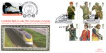 20.09.2007 Army Uniforms Historic Channel Tunnel Benham, Channel Tunnel No.715