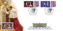 12.05.2007 Coronation of George VI 70th Anniversary Cover 1 Bradbury, Anniv and Events No.40